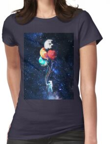 going up  Womens Fitted T-Shirt