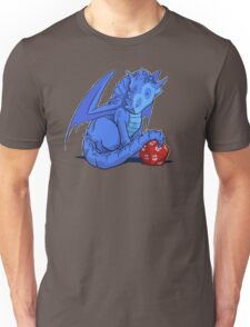 D20 Blue Dragon Unisex T-Shirt