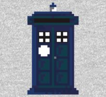 8-Bit Tardis! by PixieWillow