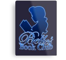 Belle's Book Club Metal Print