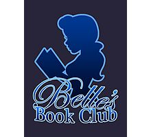 Belle's Book Club Photographic Print