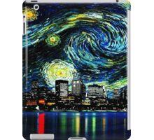 tardis starry night fun  iPad Case/Skin