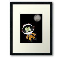 Mún or Bust! Kerbal Space Program Framed Print