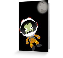 Mún or Bust! Kerbal Space Program Greeting Card