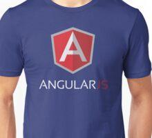 Angular JS (On Blue) Unisex T-Shirt