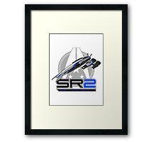Mass Effect - Normandy SR2 Framed Print