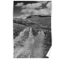 All Roads Lead to Ingleborough Poster