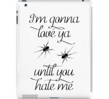 Black Widow - Iggy Azalea / Rita Ora Lyrics iPad Case/Skin