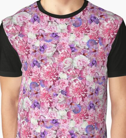 Grandma Floral Graphic T-Shirt