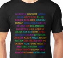 Broadway Theatres (1) Unisex T-Shirt