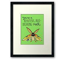 Leslie Knope compliment Framed Print