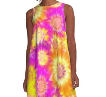 Whimsy sunflower A-Line Dress