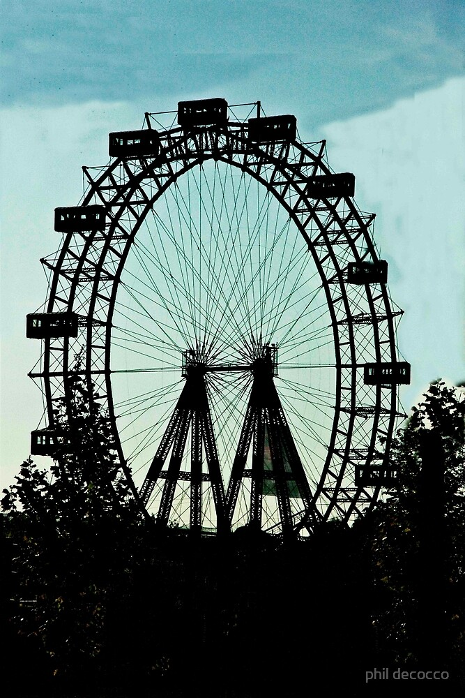 Ferris Silhouette by phil decocco