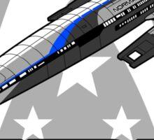 Mass Effect - Normandy SR2 Sticker