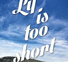 Lif is too short by Wannes Daemen