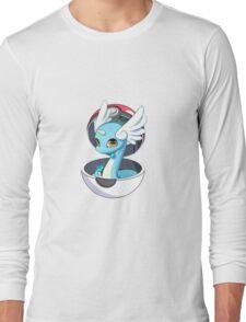 Cute Dratini in Pokèball Long Sleeve T-Shirt