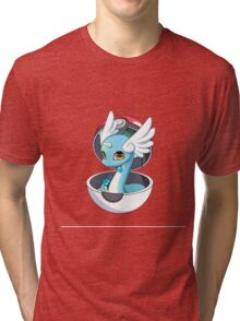 Cute Dratini in Pokèball Tri-blend T-Shirt