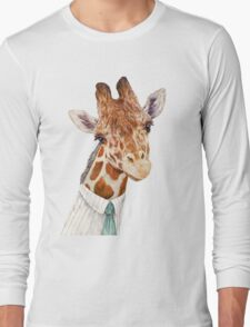 Male Giraffe Long Sleeve T-Shirt