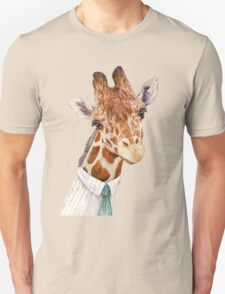 Male Giraffe Unisex T-Shirt