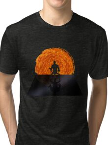 Staring into the Illusive sun Tri-blend T-Shirt
