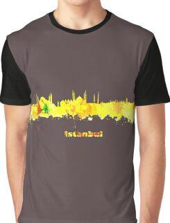 Istanbul  Skyline  Graphic T-Shirt