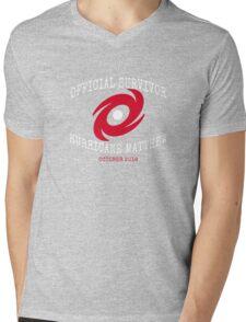 Official Survivor Hurricane Matthew Mens V-Neck T-Shirt