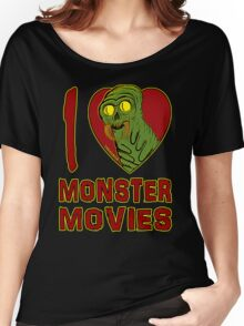 I Love Monster Movies Women's Relaxed Fit T-Shirt