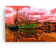 The Samuel and The Discovery Canvas Print
