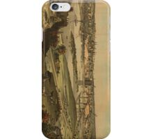 Vintage Pictorial Map of St. Paul Minnesota (1874)  iPhone Case/Skin