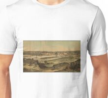 Vintage Pictorial Map of St. Paul Minnesota (1874)  Unisex T-Shirt