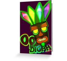 'OOBIDIGAH' Greeting Card