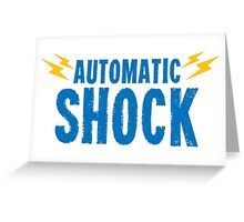 Automatic Shock Greeting Card