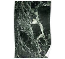Beautiful Green Marble Abstract Background Poster