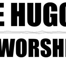 Tree Hugging Dirt Worshipper Sticker