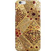Detail of the Gallery of Mirrors, Sheesh Mahal, Lahore Fort iPhone Case/Skin