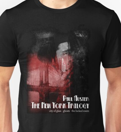 Paul Auster New York Trilogy T-Shirt Unisex T-Shirt