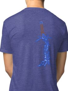 Tribal Freezing Barbed blade Tri-blend T-Shirt