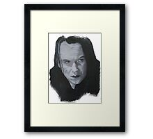 Why did you allow me to feel? Framed Print