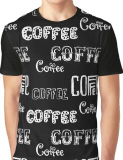 Seamless pattern with Coffee  Graphic T-Shirt