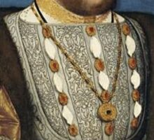 King Henry the Eight of England Sticker