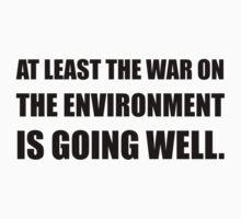 War On Environment Kids Tee