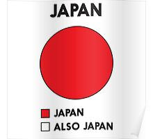 Funny Japan Pie Chart Poster