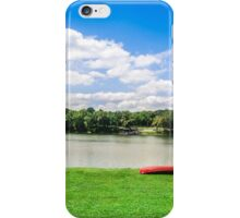 Crossing the Potomac on White's Ferry iPhone Case/Skin