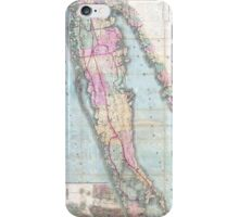 Vintage Map of Long Island (1880)  iPhone Case/Skin