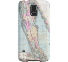 Vintage Map of Long Island (1880)  Samsung Galaxy Case/Skin
