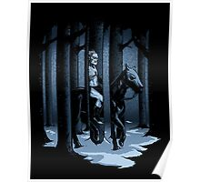 The Walker in the Woods Poster