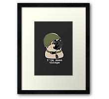 Pug of War Framed Print