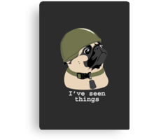 Pug of War Canvas Print