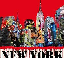 New York City in Graffiti by rlnielsen4