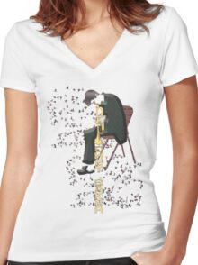 My Funny Valentine Women's Fitted V-Neck T-Shirt